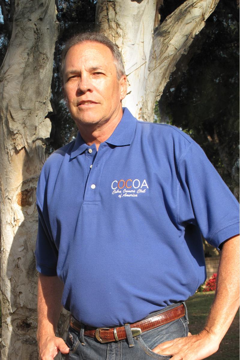 COCOA Blue Polo Shirt