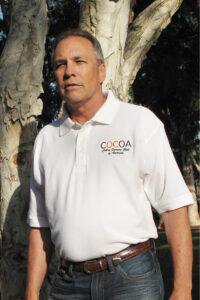COCOA White Polo Shirt